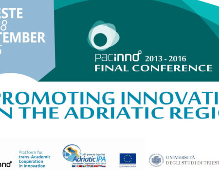 Promoting Innovation in the Adriatic Region – Final Conference